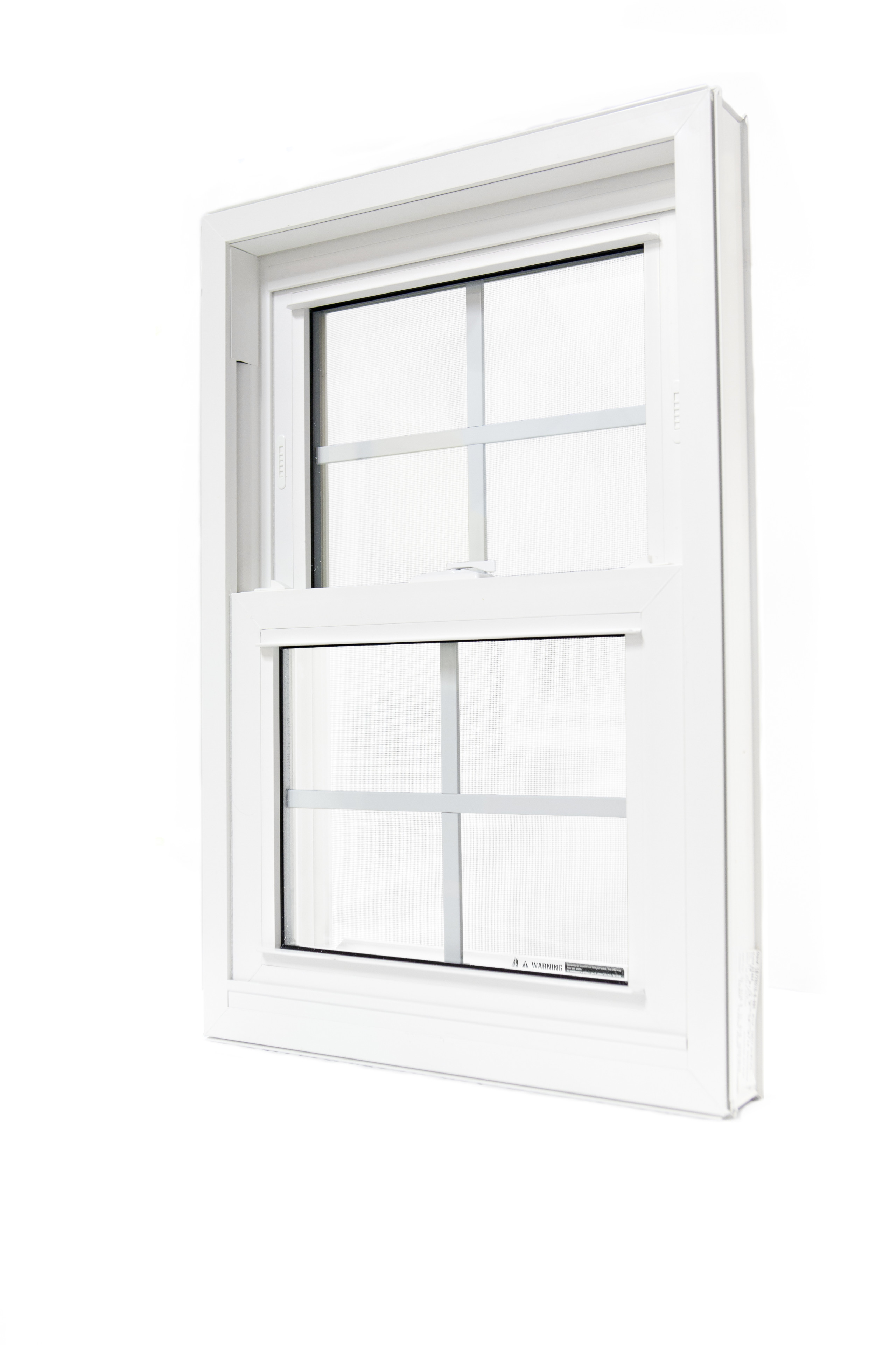 sliding window with metal cross